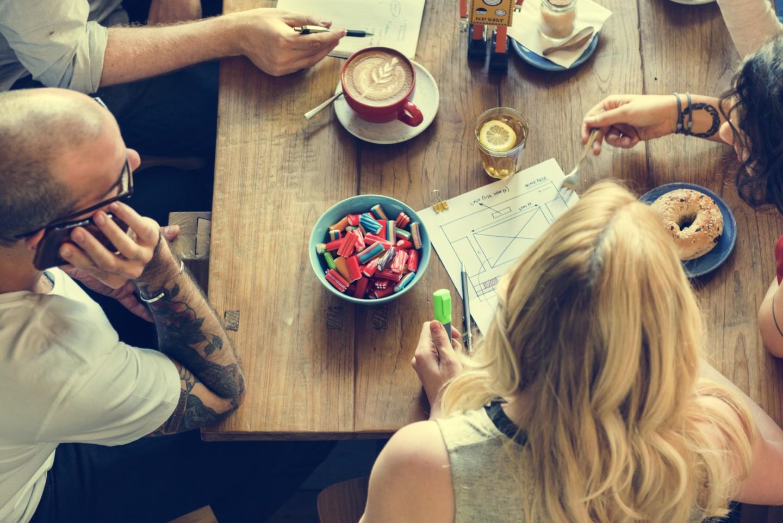 Frühstück Kaffee Café Bagel Freunde Freundinnen Freizeit Entspannen Allstedt