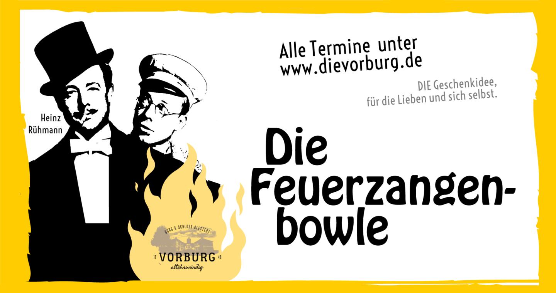 Die Feuerzangenbowle auf der Vorburg von Burg & Schloss Allstedt 2019